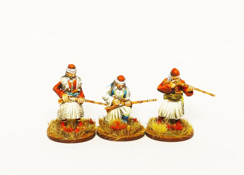 GWI003 Greek Rebels with kariofilia/rifles  28mm Resin miniatures