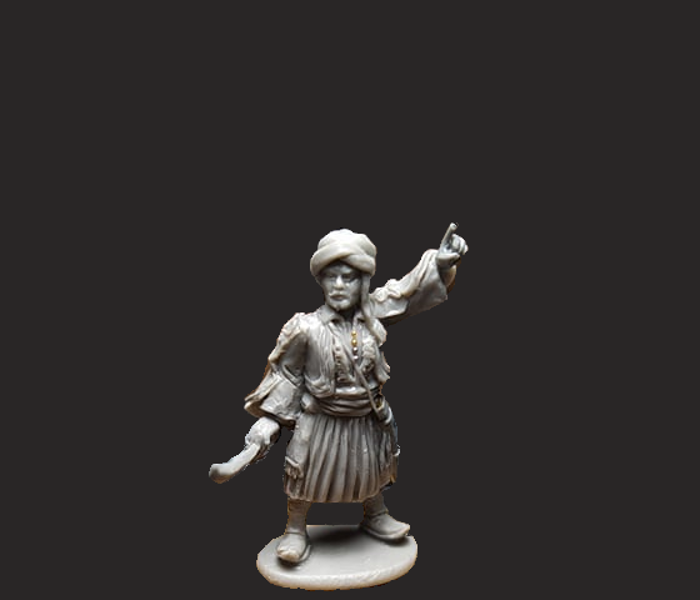GWI007 Lord Byron 28mm Resin miniature